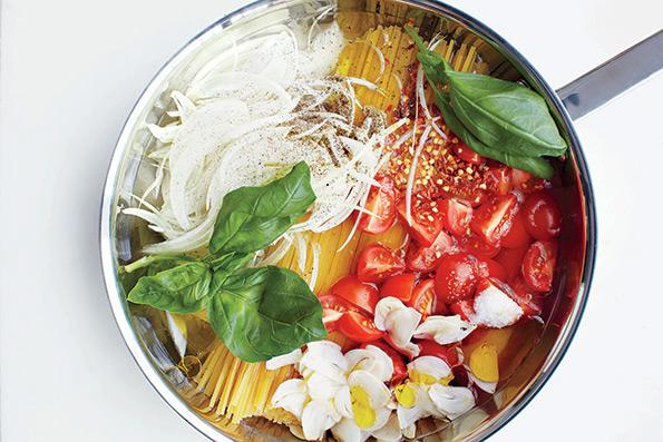 One pot pasta : Prépare tes pâtes en moins de 15 minutes