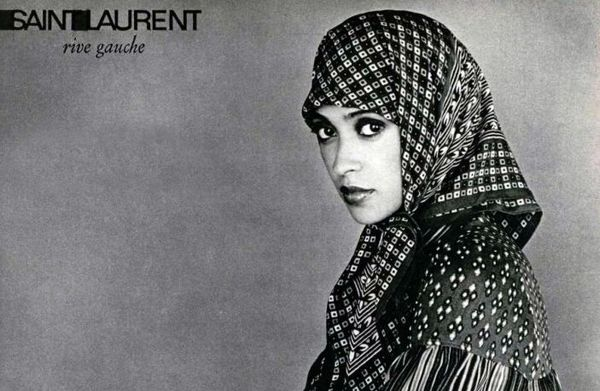 "Quand Yves Saint Laurent initiait la ""mode islamique"""
