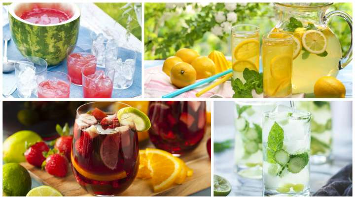 #Recettes Des cocktails pour se rafraîchir cet été