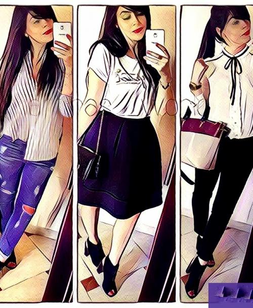#Défi. Amira, trois tenues fashion avec des «open toes»