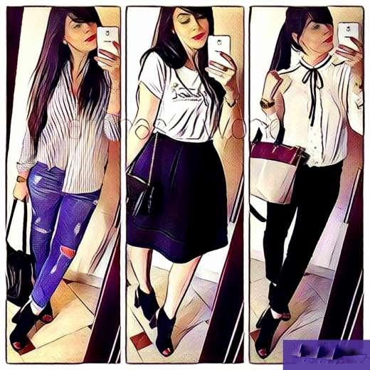 """#Défi. Amira, trois tenues fashion avec des """"open toes"""""""