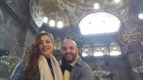 Les voyageurs amoureux à Istanbul