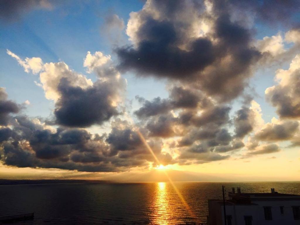 Coucher de soleil Alger