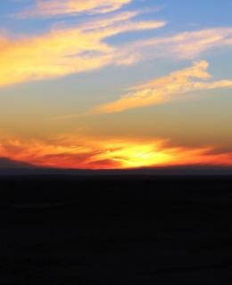 coucher-soleil-beni-abbes-algerie