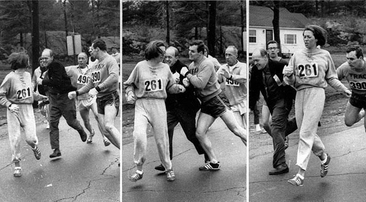 L'histoire de la première femme qui a couru un marathon