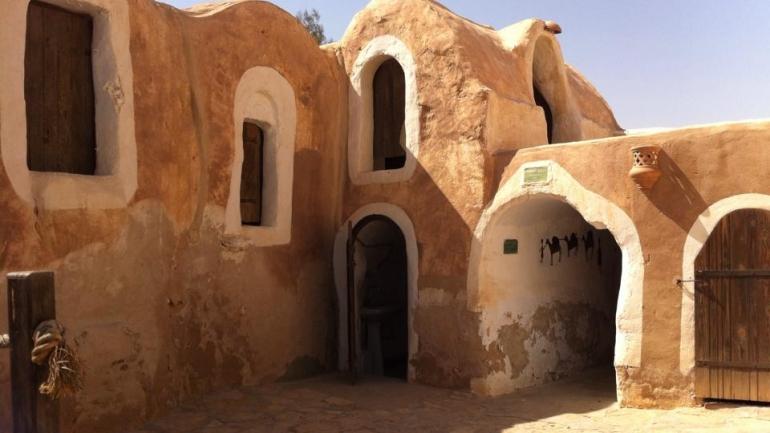 e ksar de Tataouine dans la région de Djerba, Tunisie. Crédit photo : Zouina @myringtravel