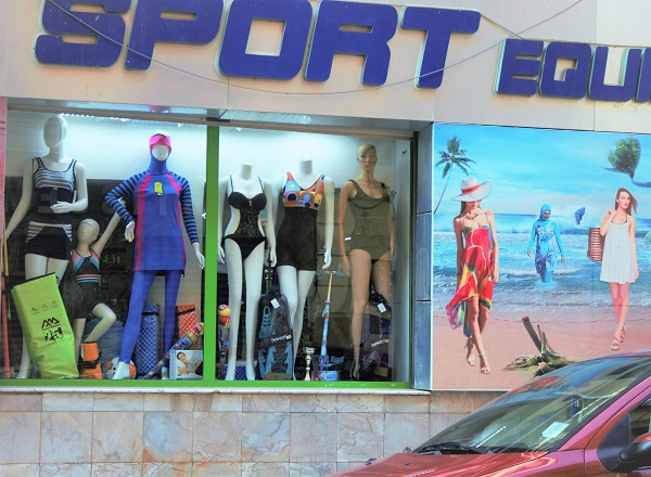 Bikini et burkini en Algérie