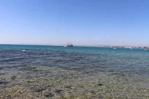 tunisie eau transparente Hammamet