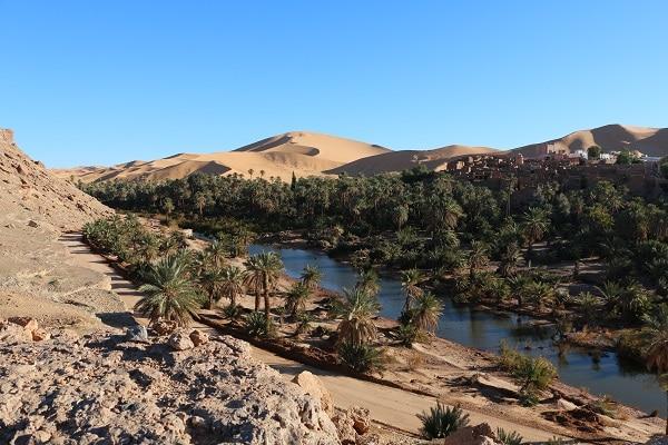 Taghit Algérie romantique