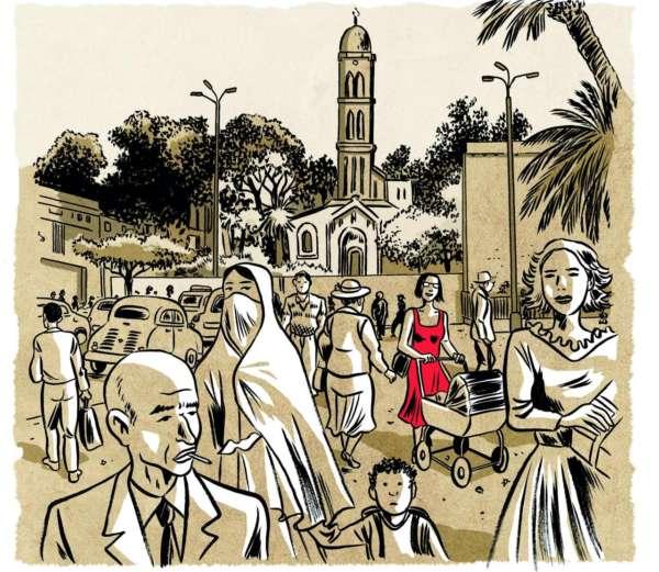 album bande dessinée algériennes