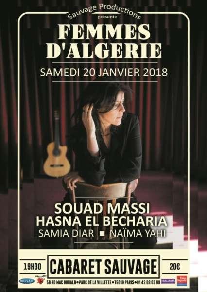 #Concert Paris célèbre les femmes d'Algérie