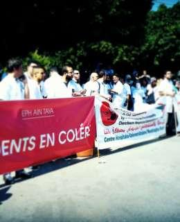 médecins algériens poursuivent leur grève