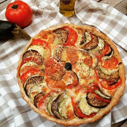 #Recette : La tarte aux légumes du soleil