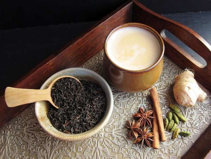 #Cuisinedumonde Le latte chaï, la boisson chaude de l'hiver