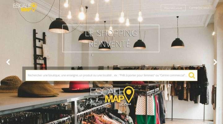 Escale Map : le shopping au bout du clic