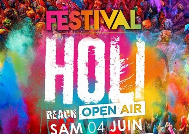 """Le """"Holi Festival of Colors"""" débarque demain à Oran"""