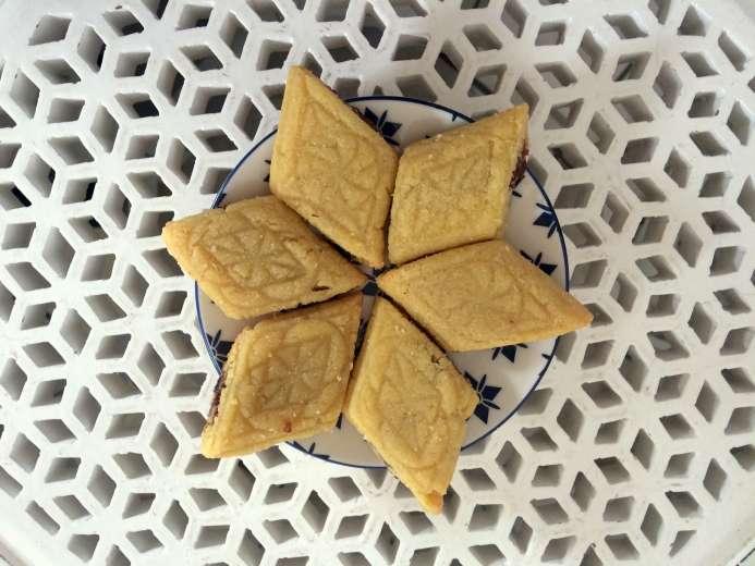 La recette de makrouts aux dattes de Mouna