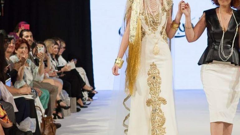 La styliste algérienne Menouba à l'Oriental Fashion Week