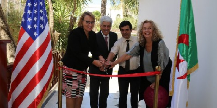 #BonneNouvelle L'école américaine d'Alger ouvre ses portes