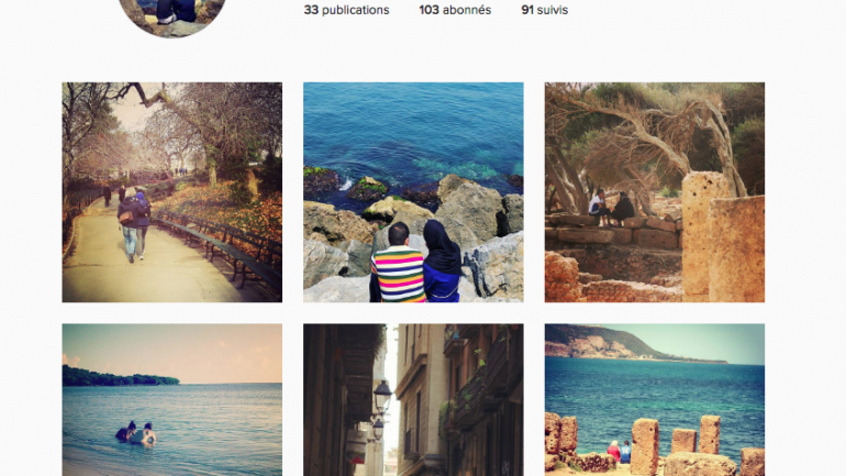 @loverssaroundtheworld : le compte Instagram des amoureux algériens