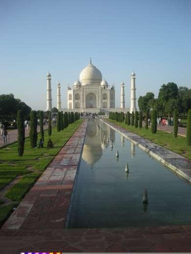 Taj Mahal, palais d'un amour absolu
