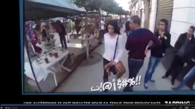 #Miso Harcèlement de rue, le triste quotidien des Algériennes