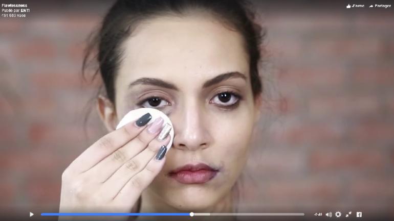 Vidéo. Un faux tuto make-up dénonce les violences contre les femmes