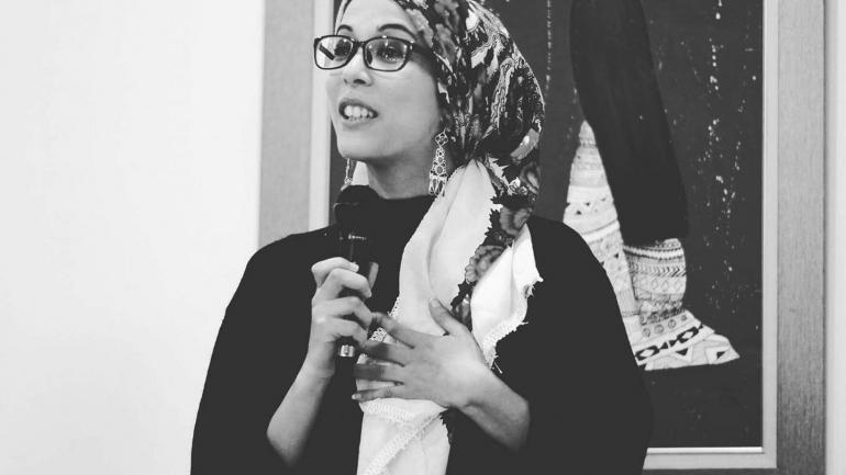 """""""On est là !"""", le cri d'une Algérienne"""