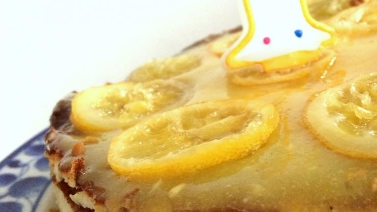 #Recette Cheesecake au citron, parfumé à la fleur d'oranger