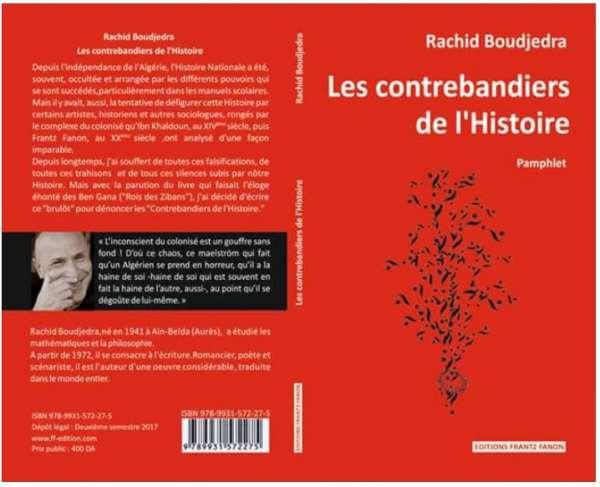 Voici la recette de Rachid Boudjedra pour un pamphlet… raté