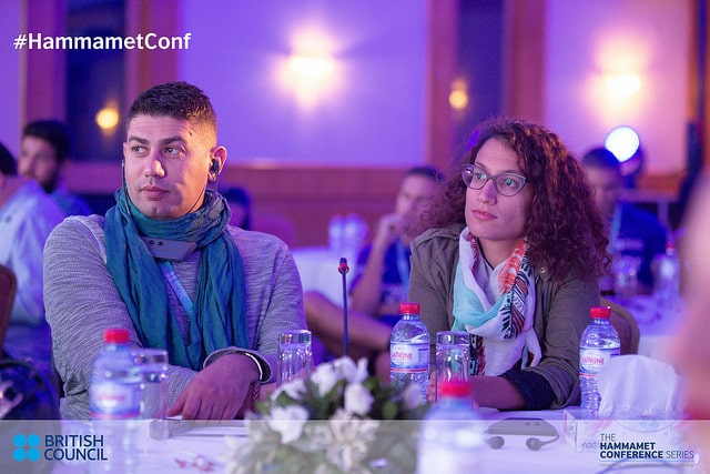 Inty invitée à Hammamet Conference, organisée par le British Council