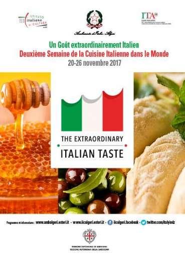 L'Italie s'invite pour une semaine à Alger !