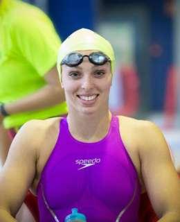 amel melih championne algérienne de natation