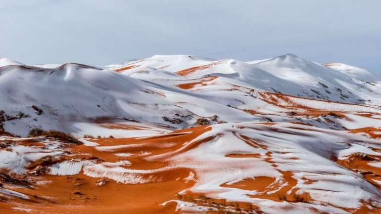 Il a neigé dans le Sahara Algérien