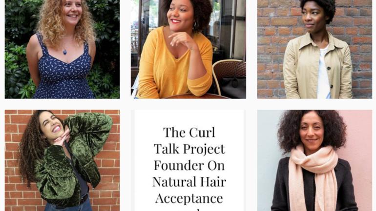 Ce compte Instagram décomplexe les femmes aux cheveux bouclés