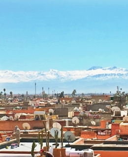 marrakech atlas enneigé