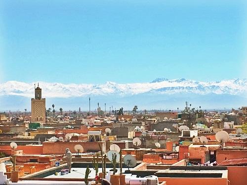 Mon week-end à Marrakech