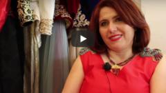 faiza antri bouzar styliste algérienne