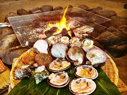 ama fruits de mer plongée japon