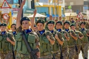 service militaire algérie femme