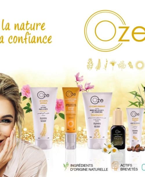 Biopharm lance OZE, sa gamme de produits dermo-cosmétiques